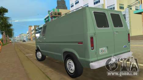 Ford E-150 1983 Short Version Commercial Van für GTA Vice City linke Ansicht