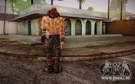 Mr. Torgue из Borderlands 2 für GTA San Andreas dritten Screenshot