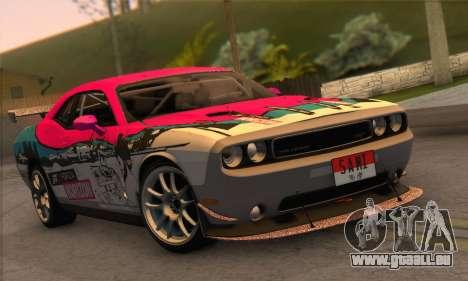 Dodge Challenger SRT8 2012 für GTA San Andreas