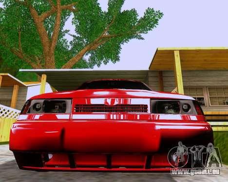 VAZ 2112 Accordables pour GTA San Andreas salon