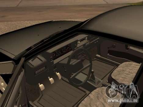 VAZ 2109 Gangster neuf V 1.0 pour GTA San Andreas laissé vue