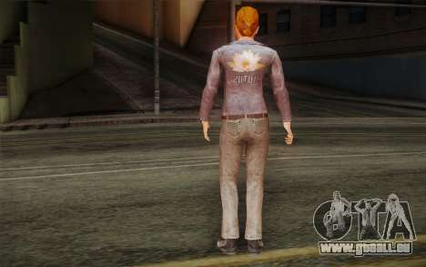 Woman Autoracer from FlatOut v2 für GTA San Andreas zweiten Screenshot