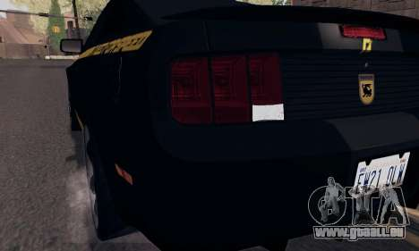 Ford Mustang Shelby Terlingua 2008 NFS Edition pour GTA San Andreas roue