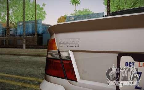 Sultan из GTA 5 pour GTA San Andreas vue de droite
