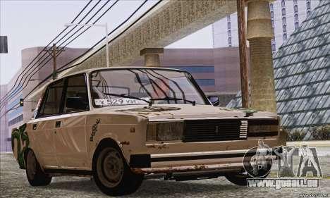 VAZ 2107 GVR pour GTA San Andreas