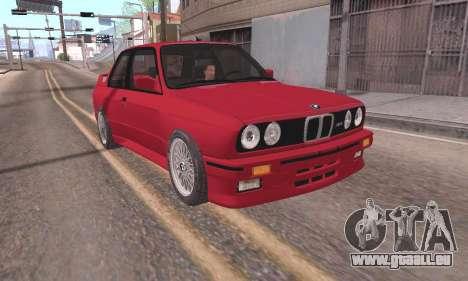 BMW E30 M3 1991 pour GTA San Andreas