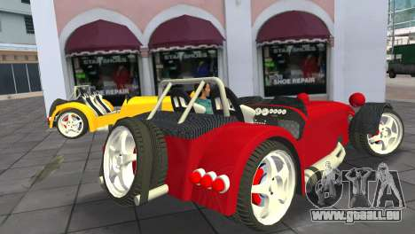 Caterham Super Seven für GTA Vice City linke Ansicht