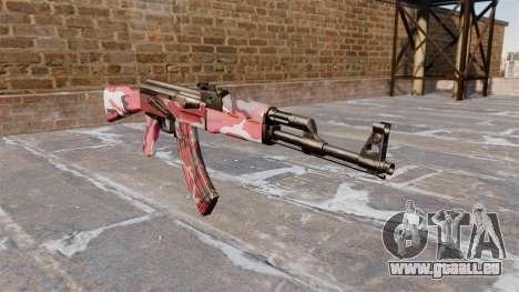 Die AK-47 städtischen Rot für GTA 4