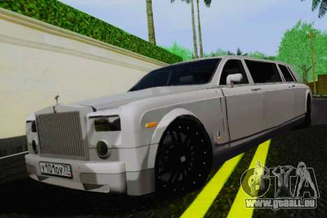 Rolls-Royce Phantom Limo pour GTA San Andreas