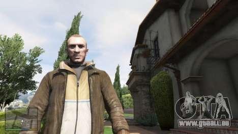 GTA 5 Niko Bellik deuxième capture d'écran