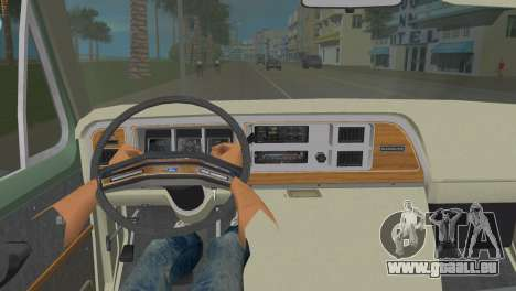 Ford E-150 1983 Short Version Commercial Van für GTA Vice City zurück linke Ansicht