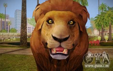 Lion für GTA San Andreas dritten Screenshot