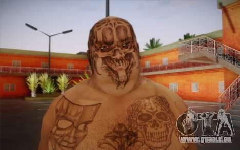 Him pour GTA San Andreas troisième écran