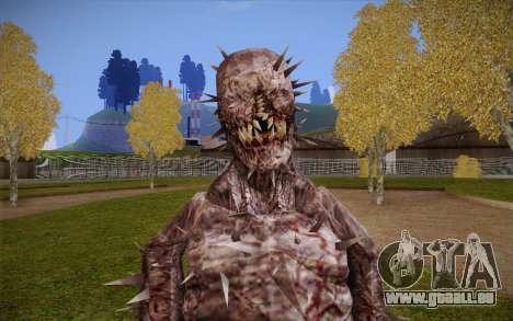 Iron Maiden from Resident Evil 4 für GTA San Andreas dritten Screenshot