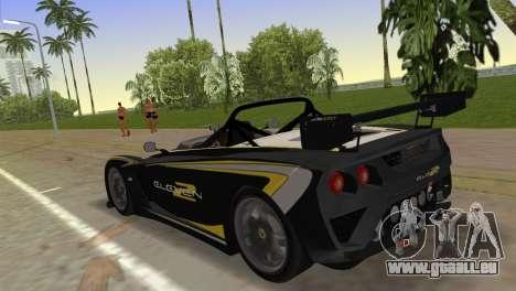 Lotus 2-Eleven für GTA Vice City linke Ansicht