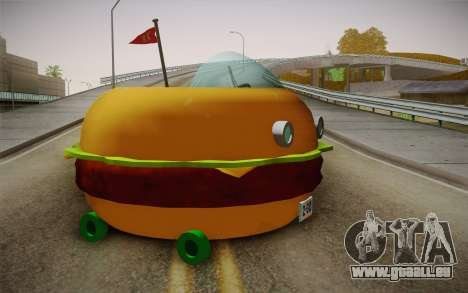 Spongebobs Burger Mobile pour GTA San Andreas