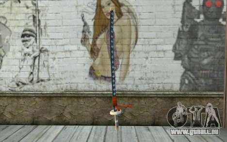 One Piece Sword Trafalgar Law pour GTA San Andreas
