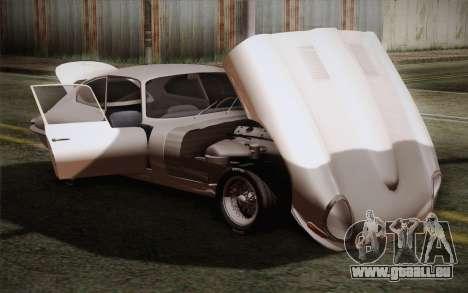 Jaguar E-Type 4.2 für GTA San Andreas Seitenansicht