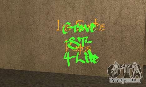 De nouveaux graffitis pour GTA San Andreas troisième écran