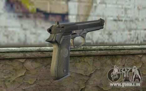 Police Beretta 92 für GTA San Andreas zweiten Screenshot
