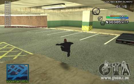 С-HUD von SteelMan für GTA San Andreas