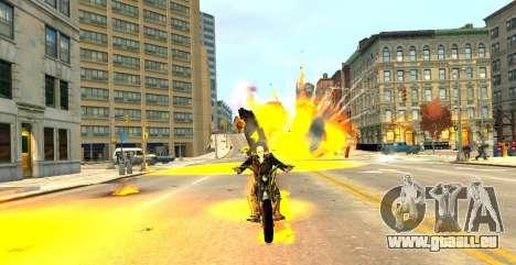 Ghost Rider pour GTA 4 quatrième écran