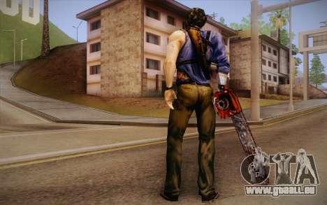 Ash Williams из Evil Dead Regeneration für GTA San Andreas zweiten Screenshot