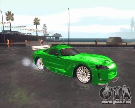 Dodge Viper SRT de NFS Most Wanted pour GTA San Andreas