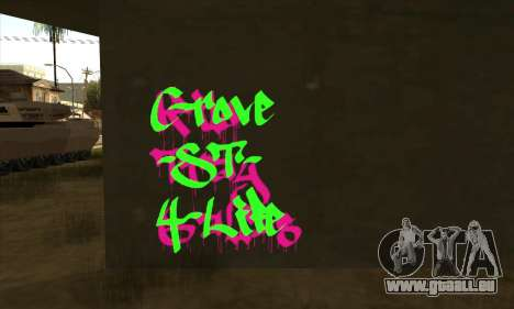 De nouveaux graffitis pour GTA San Andreas deuxième écran