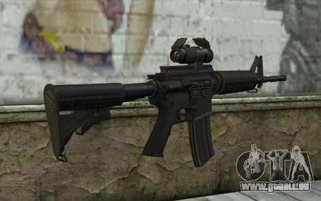 Ricks M4A1 from The Walking Dead S3 für GTA San Andreas zweiten Screenshot