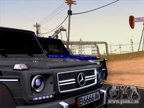Mercedes-Benz G65 AMG 6X6 für GTA San Andreas rechten Ansicht