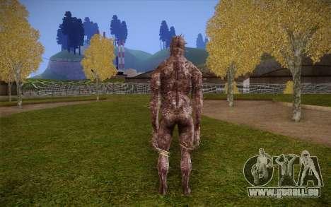 Iron Maiden from Resident Evil 4 pour GTA San Andreas deuxième écran