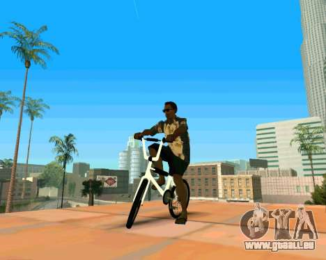 BMX из GTA Vice City Stories für GTA San Andreas rechten Ansicht
