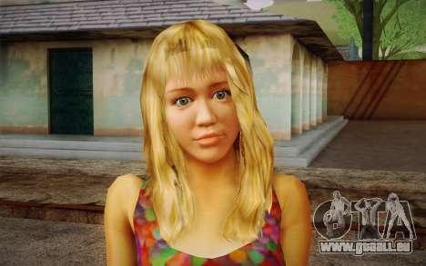 Hannah Montana für GTA San Andreas dritten Screenshot