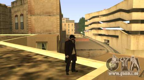 New Aiden Pearce pour GTA San Andreas quatrième écran