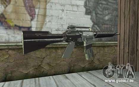 New M4 pour GTA San Andreas deuxième écran