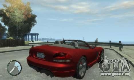 Dodge Viper SRT-10 2003 v2.0 pour GTA 4 est une gauche