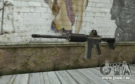 M4A1 Holosight pour GTA San Andreas