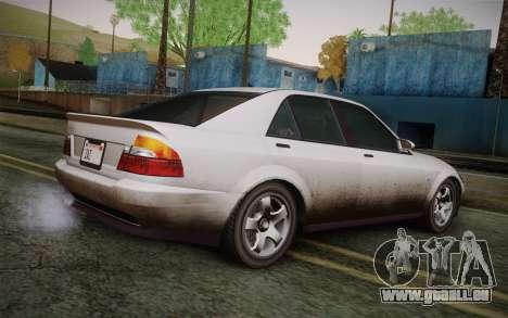 Sultan из GTA 5 pour GTA San Andreas laissé vue