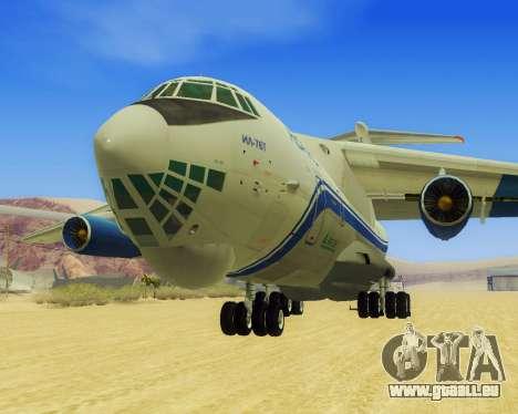 Il-76T AVAST für GTA San Andreas linke Ansicht