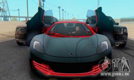 Mclaren MP4-12C Spider Sonic Blum für GTA San Andreas