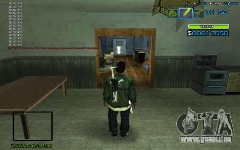 C-HUD by nayshnik pour GTA San Andreas deuxième écran