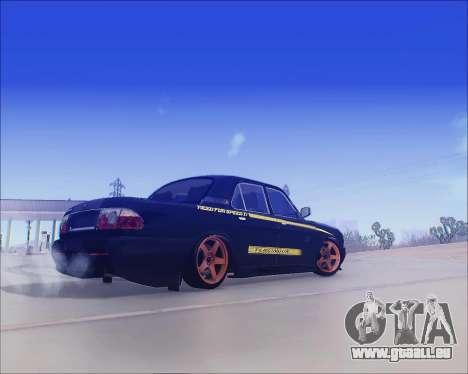 GAZ 31105 Accordables pour GTA San Andreas vue de droite