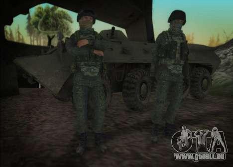 Le lourd de la MIA forces spéciales pour GTA San Andreas troisième écran