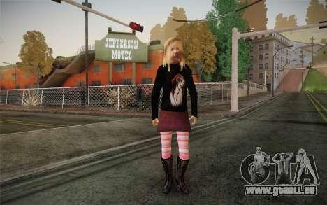 Avril Lavigne pour GTA San Andreas