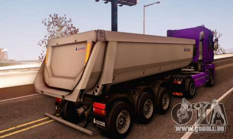 Schmied Bigcargo Solid Stock pour GTA San Andreas