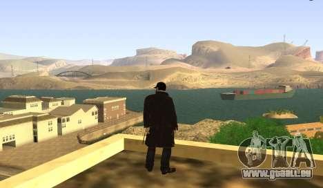 New Aiden Pearce pour GTA San Andreas deuxième écran