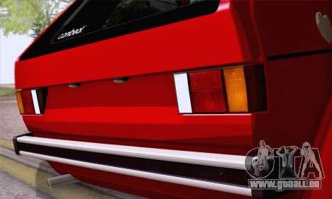 Volkswagen Golf Mk I 1978 pour GTA San Andreas vue de côté