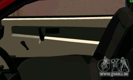 VAZ 2108 Turbo für GTA San Andreas Unteransicht