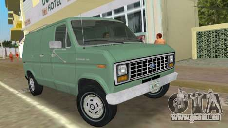 Ford E-150 1983 Short Version Commercial Van pour GTA Vice City